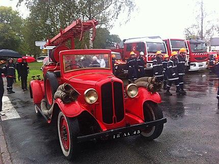 Magnifique camion de pompier