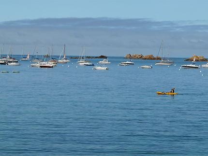 Port Blanc et ses bateaux
