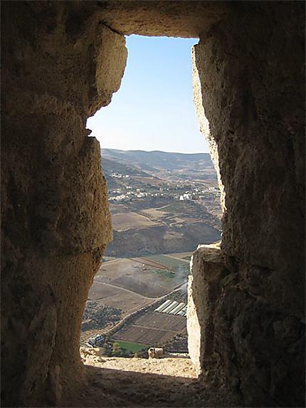 Kerak Castle - Vue d'en haut