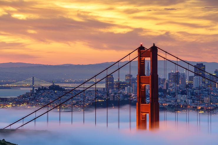 Golden Gate Bridge, San Francisco, Californie