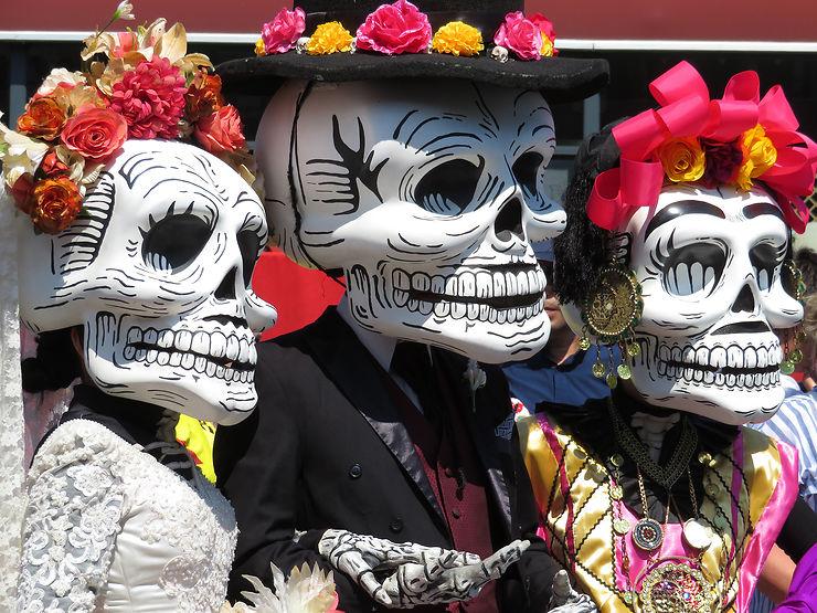 El Dia de los Muertos : Halloween à la mexicaine