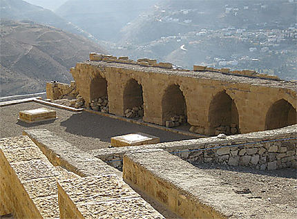 Kerak Castle - Dans la forteresse