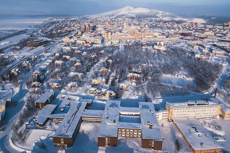 Kiruna, de la mine aux pistes de ski
