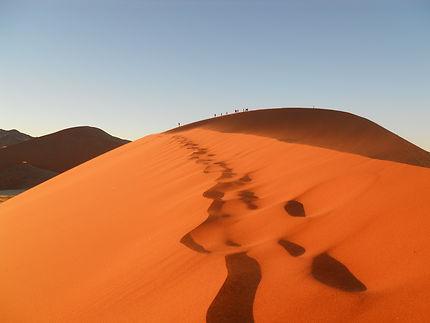 Dune 45 à Sossusvlei