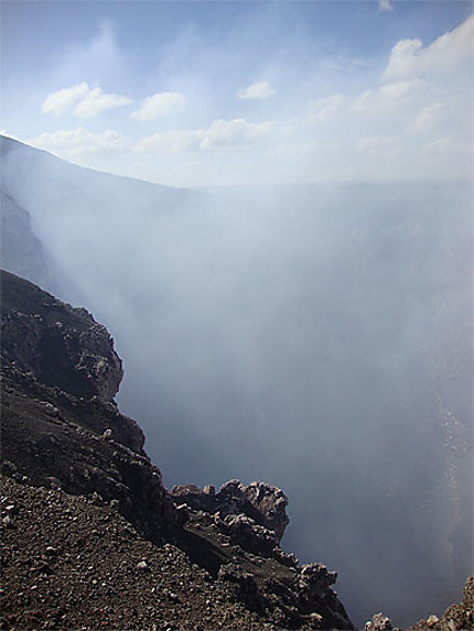 Caldeira du volcan Masaya
