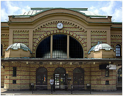 La gare de Kristianstad