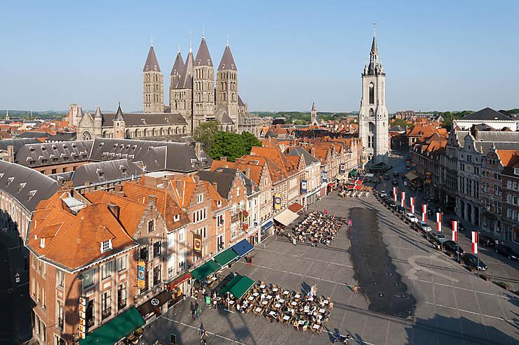 Tournai et Ath, beffrois et géants