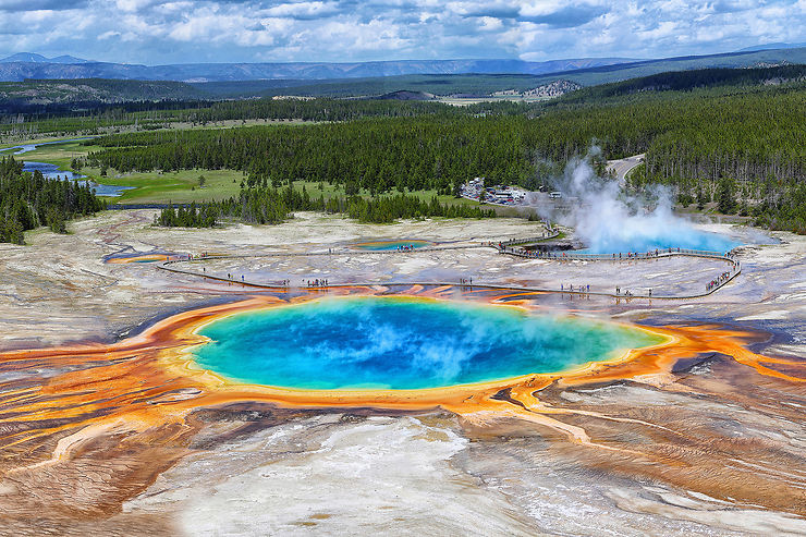 Parc de Yellowstone, Wyoming