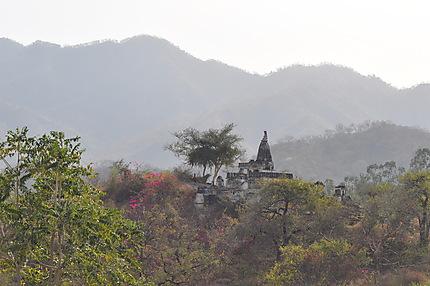 Surya Temple vu du temple d'Adinath