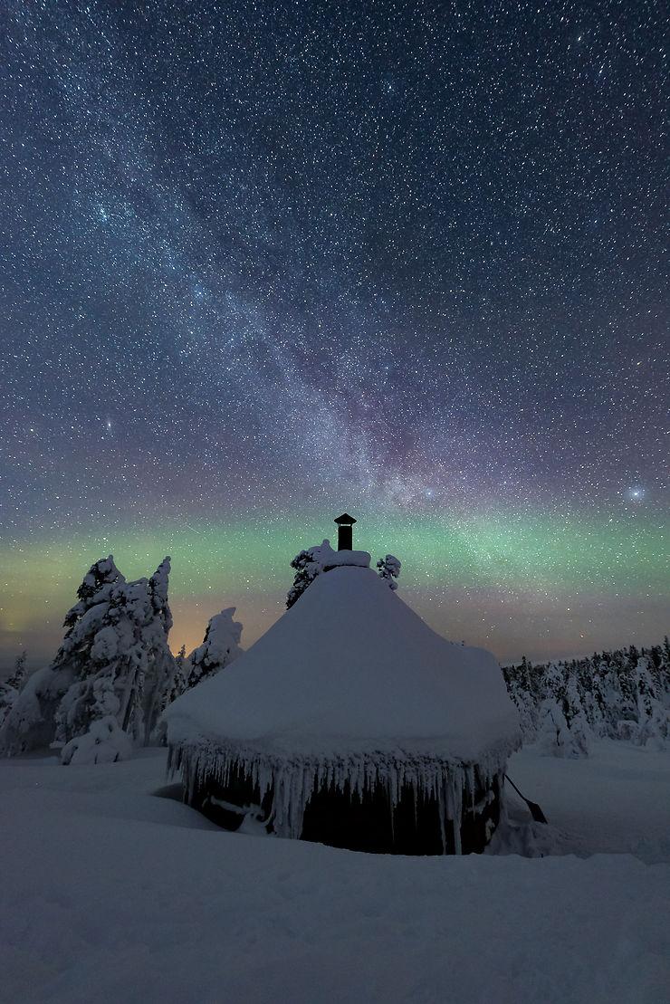 La cabane au fond du jardin, Finlande