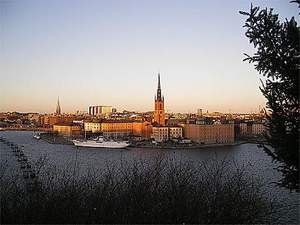 Sur les hauteurs de Stockholm