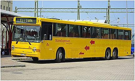 """Un autobus de la compagnie """"Skånetrafiken"""""""