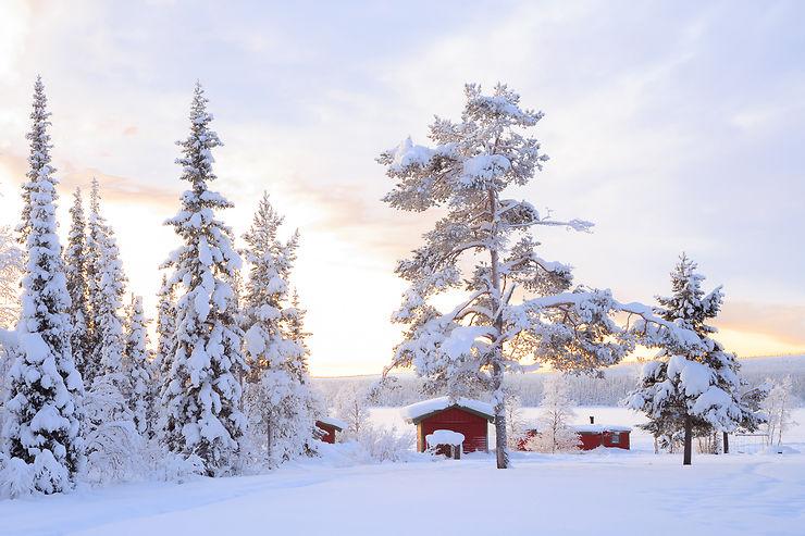 La Laponie suédoise, en remontant le fleuve Torneälven