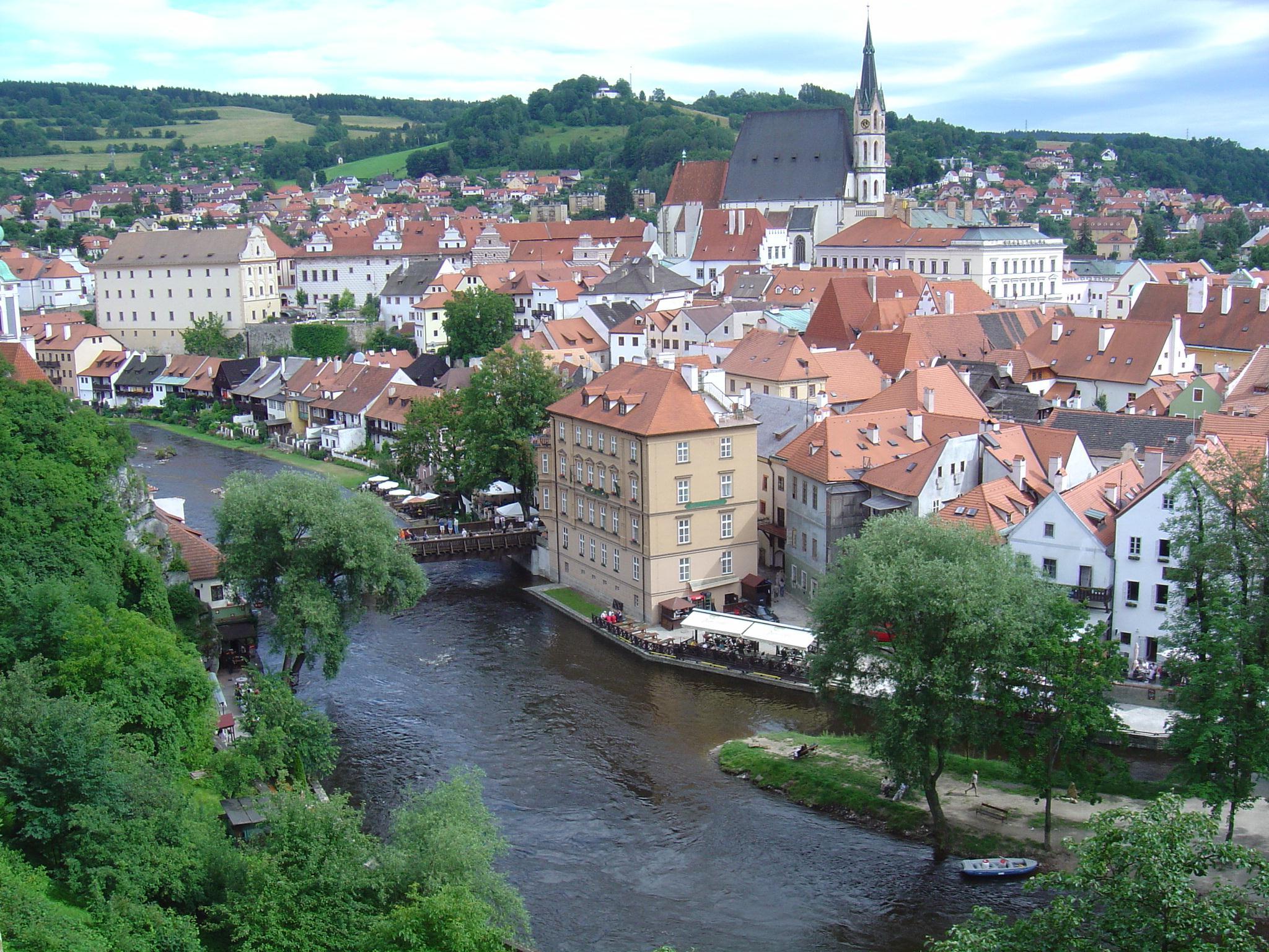 Český Krumlov - République tchèque