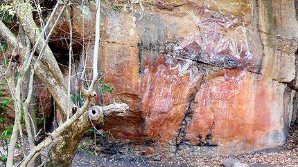 Nourlangie, Peintures rupestres