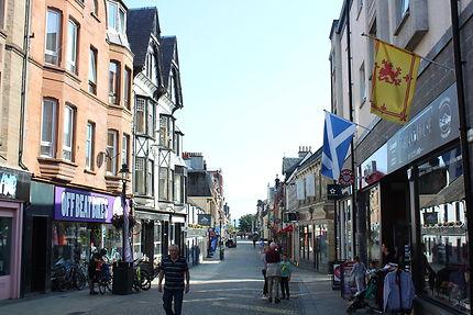 Rue principale à Fort William