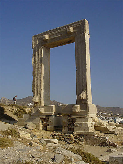 Porte du temple d'Apollon