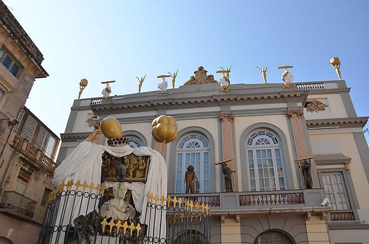 Le théâtre-musée Dalí de Figueres