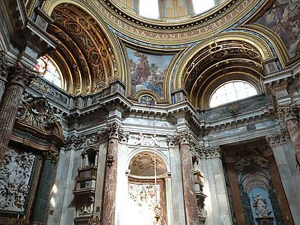 Intérieur de l'Eglise Sant'Agnese in Agone