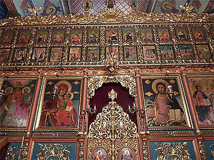 Belle iconostase