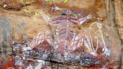Peintures rupestres - Nourlangie Rock