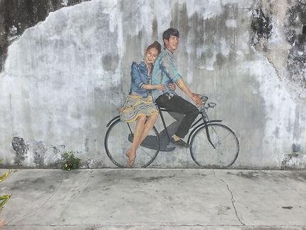 Art de rue à Penang