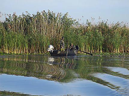La pêche dans les Lacs du Delta