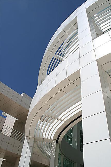 Getty center-détail architectural