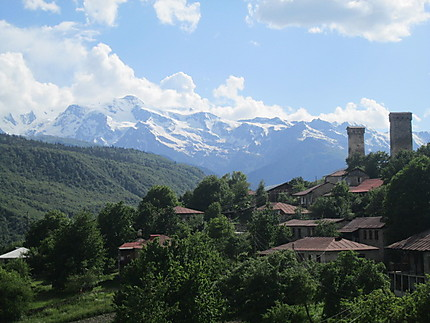 Environs de Mestia en Svanetie