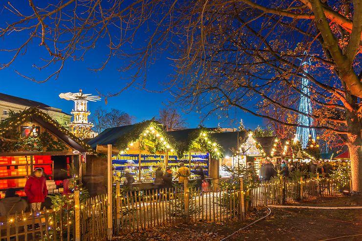 Marchés de Noël de Karlsruhe : du ludique au médiéval