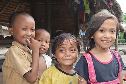 Enfants de Lombok