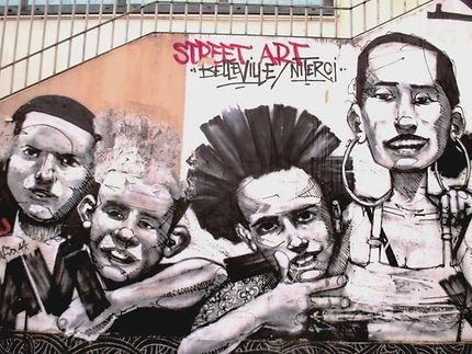 Art street (Niteroi) Rue Francis Picabia