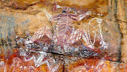 Peintures rupestres, Nourlangie Rock