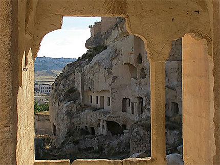 Cavusin maisons troglodytes abandonnées