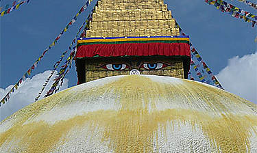 Bodhnath (vallée de Kathmandu)