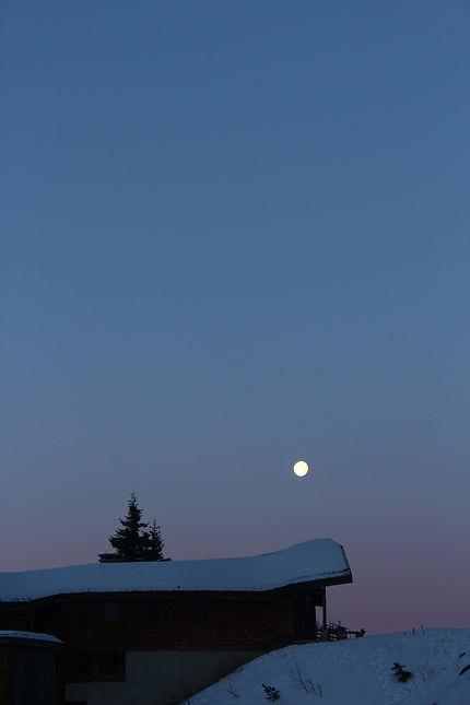 Lune montagnarde