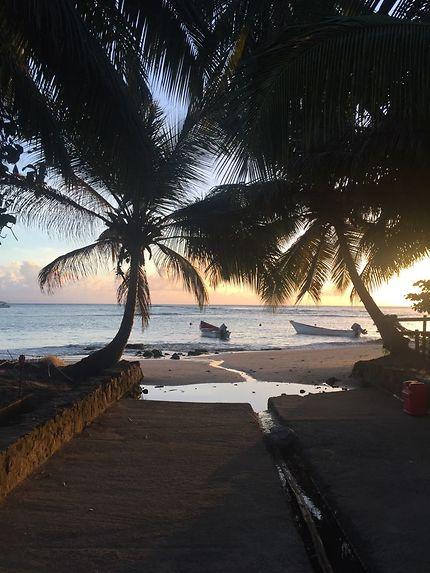 Coucher de soleil aux Grenadines