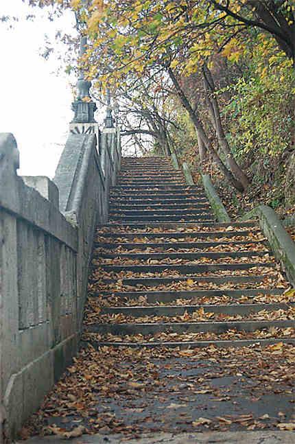 L'escalier Gellert