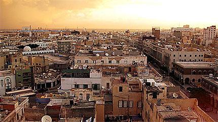 Lever de Soleil sur Tripoli