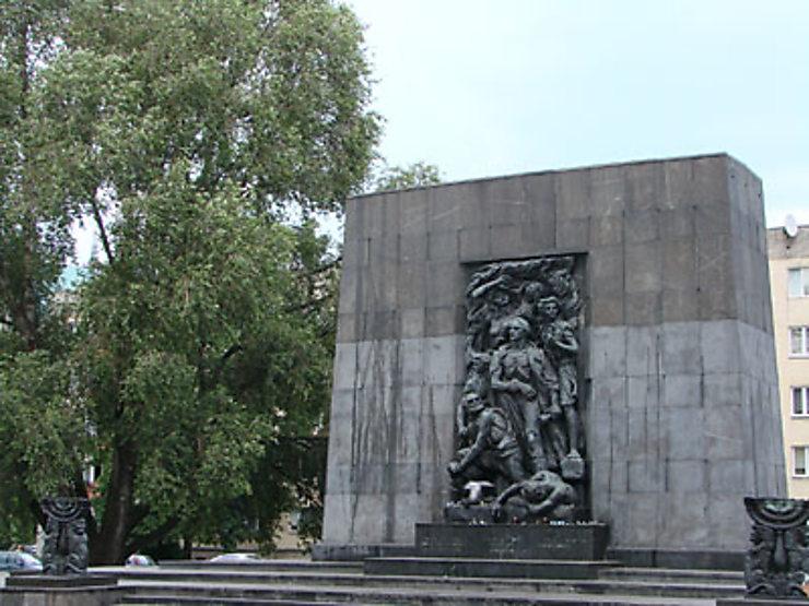 L'ancien ghetto de Varsovie