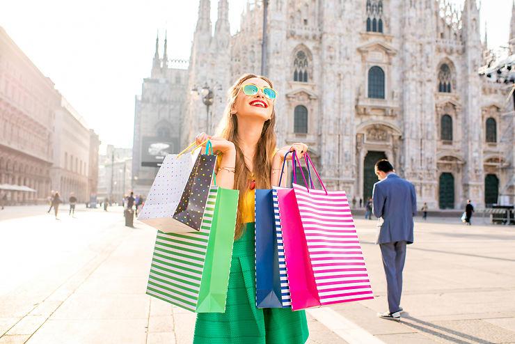 Les temples de la mode et du shopping