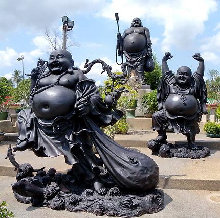 Bouddhas pansus