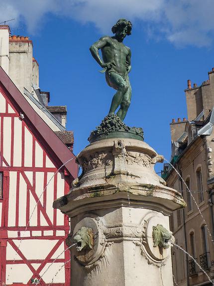Fontaine du Bareuzai à Dijon
