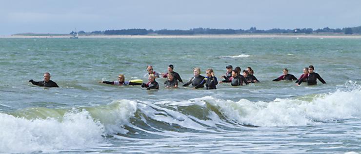 Normandie - Pratiquer la randonnée aquatique dans la Manche