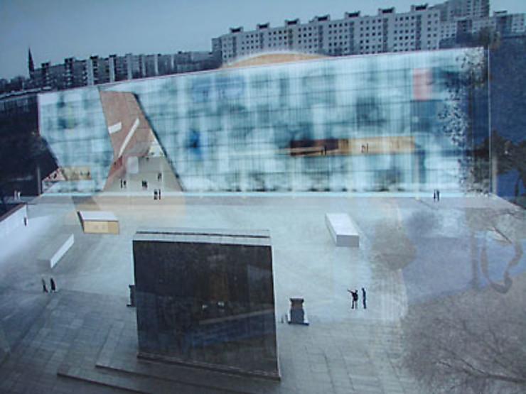 Le futur musée d'Histoire des juifs polonais