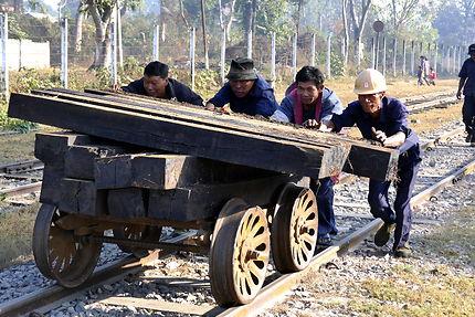 Travail du rail