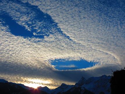 Coucher de soleil autrichien