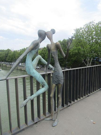 Les amoureux du pont...