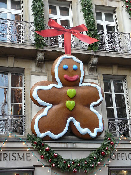 Décoration en pain d'épice au Marché de Noël