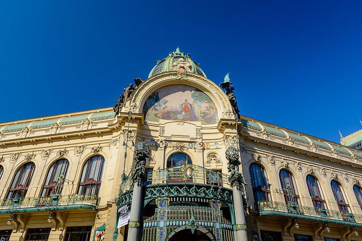 Maisons, demeures et palais baroques de Prague